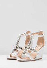 Wallis - SINGING - High heeled sandals - white - 4