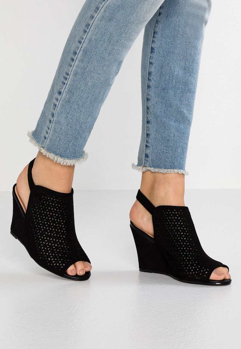 Wallis - SPHYNX - High heeled sandals - black