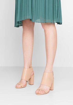 PORTIA - High Heel Sandalette - light tan