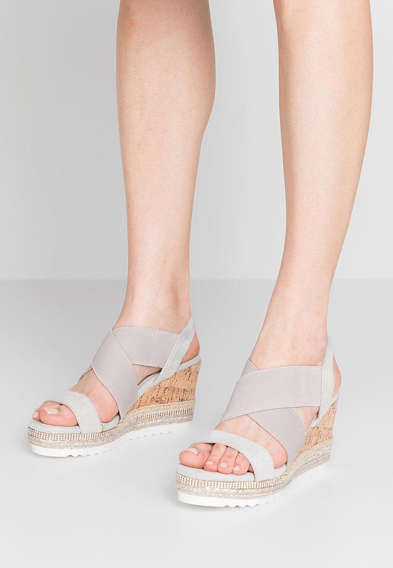 Wallis - STARLET - High heeled sandals - grey