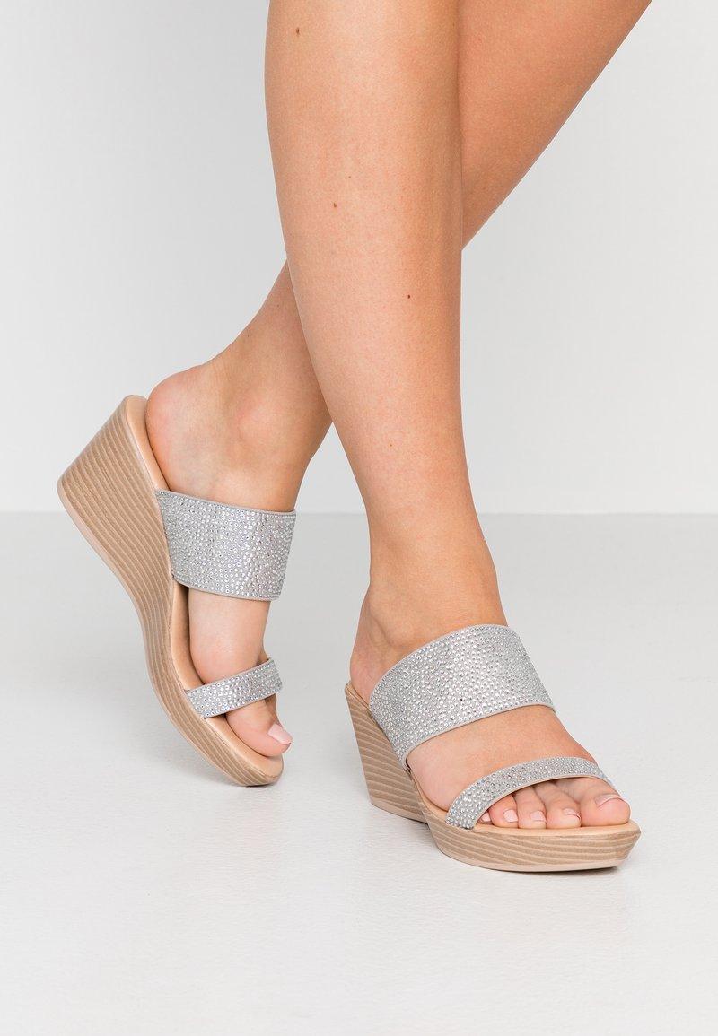 Wallis - SERENADE - Heeled mules - grey
