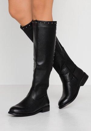 HARLOW - Stivali alti - black