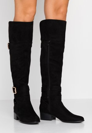 HENRIE - Over-the-knee boots - black