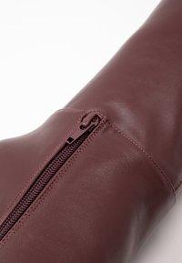 Wallis - PINOT - Boots med høye hæler - mulberry - 2