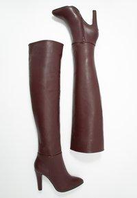 Wallis - PINOT - Boots med høye hæler - mulberry - 3