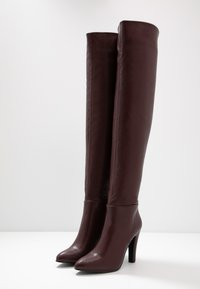 Wallis - PINOT - Boots med høye hæler - mulberry - 4