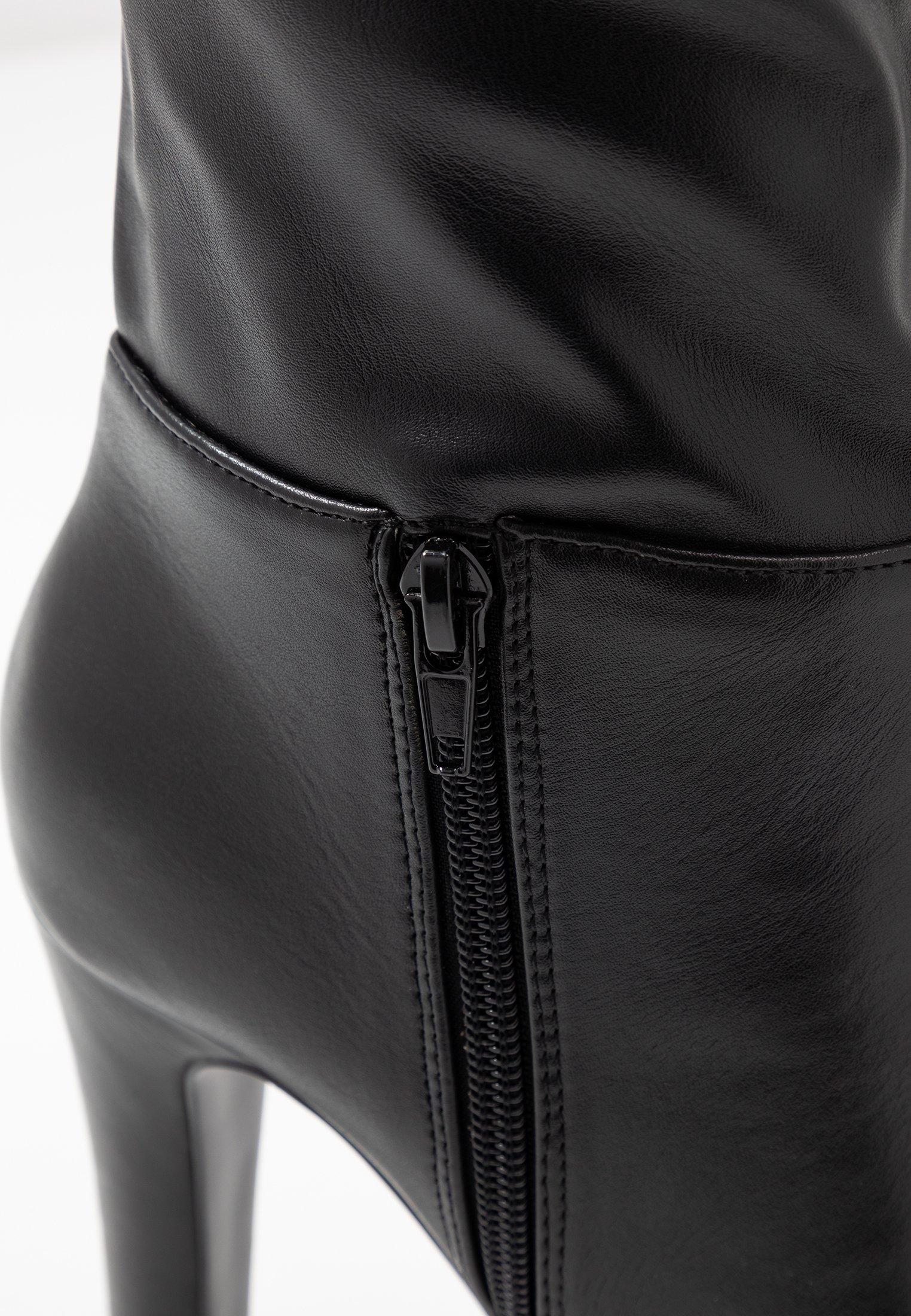 Wallis PINOT - Boots med høye hæler - black