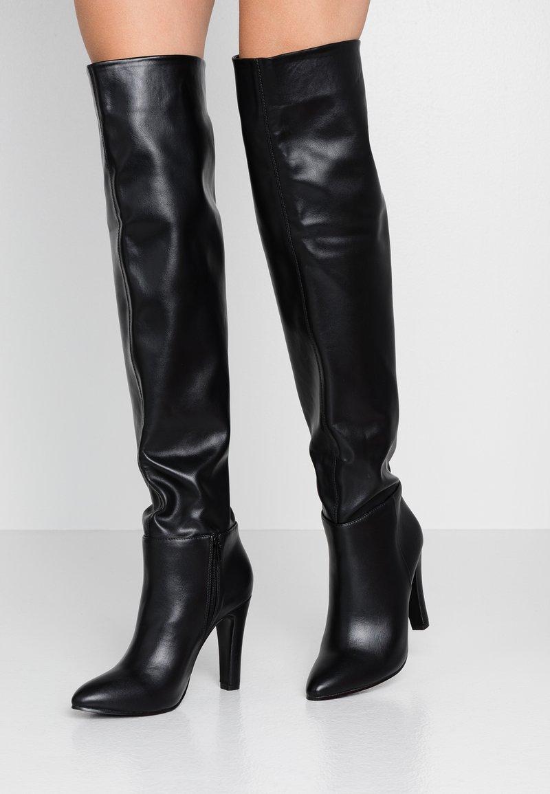 Wallis - PINOT - Boots med høye hæler - black