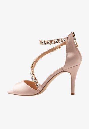 SAMIRA - High heeled sandals - blush