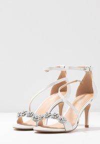 Wallis - SANTIAGO - High heeled sandals - white shimmer - 4