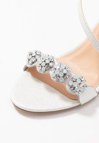Wallis - SANTIAGO - High heeled sandals - white shimmer - 2