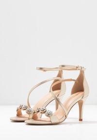 Wallis - SANTIAGO - High heeled sandals - gold shimmer - 4