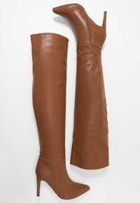 Wallis - PUZZLE - High heeled boots - tan - 3