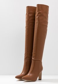 Wallis - PUZZLE - High heeled boots - tan - 4