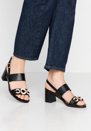 STEPHANIE - Sandals - black