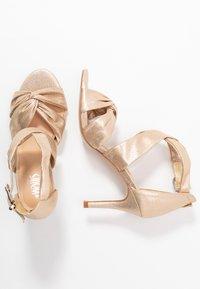 Wallis - STARBRIGHT - High heeled sandals - gold - 3