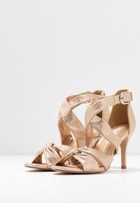 Wallis - STARBRIGHT - High heeled sandals - gold - 4