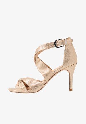 STARBRIGHT - Sandaler med høye hæler - gold