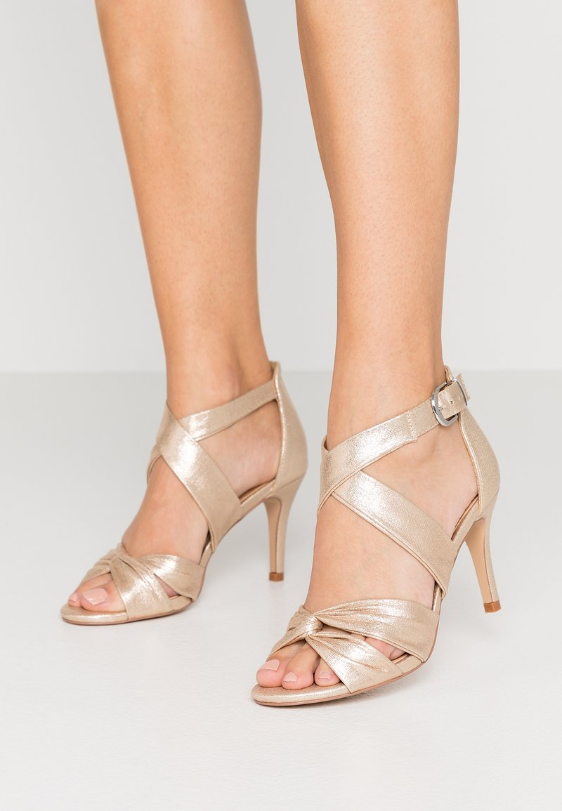 Wallis - STARBRIGHT - High heeled sandals - gold
