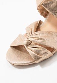 Wallis - STARBRIGHT - High heeled sandals - gold - 2
