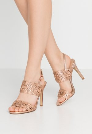 STILLA - High heeled sandals - rosegold