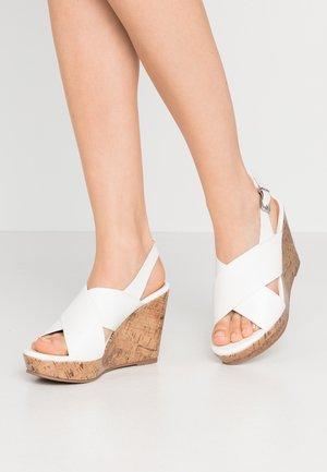 SPINELLI - Sandały na obcasie - white