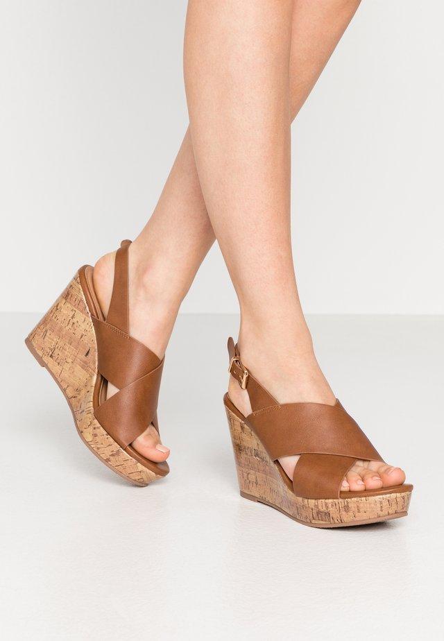 SPINELLI - Højhælede sandaletter / Højhælede sandaler - tan