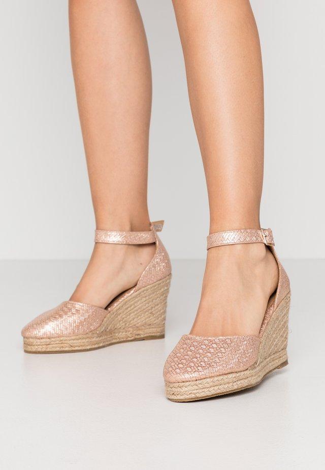 SALTASH - High heels - rose gold