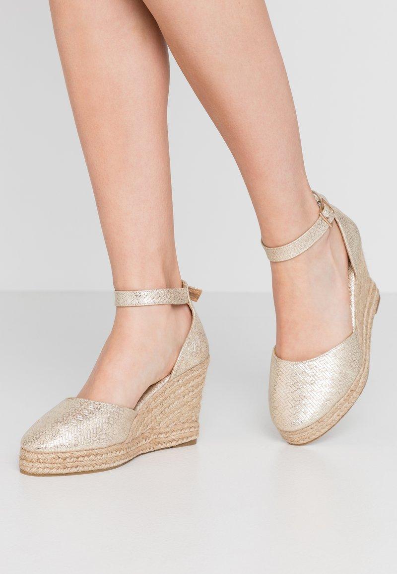 Wallis - SALTASH - High heels - gold