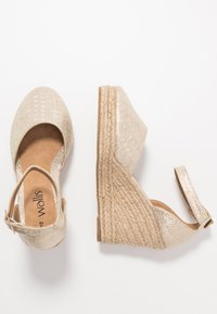 Wallis - SALTASH - High heels - gold - 3