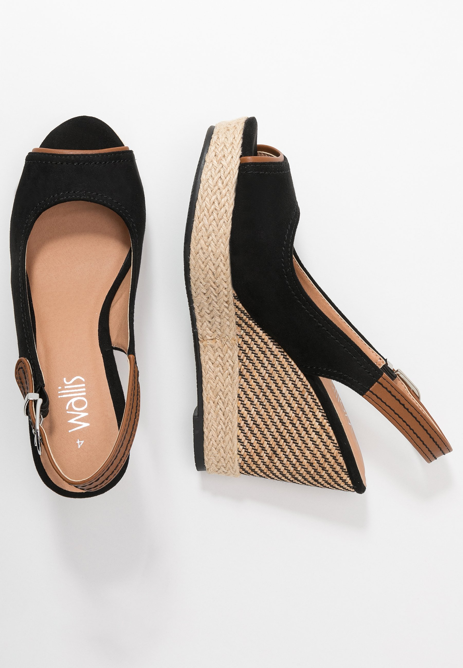 Wallis SWAN - Højhælede sandaletter / Højhælede sandaler - black F4WCs