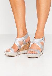 Wallis - SURI - High heeled sandals - silver - 0