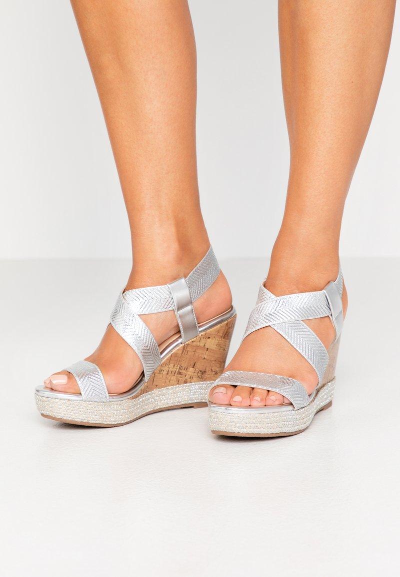 Wallis - SURI - High heeled sandals - silver