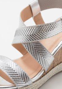 Wallis - SURI - High heeled sandals - silver - 2