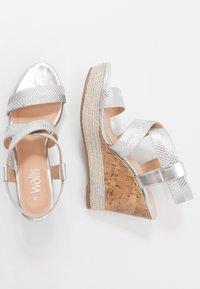 Wallis - SURI - High heeled sandals - silver - 3