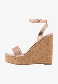 Wallis - SHAYLA - High heeled sandals - rose gold - 1