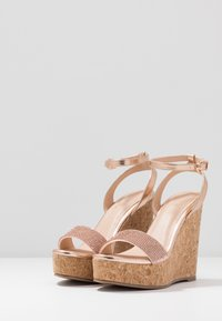 Wallis - SHAYLA - High heeled sandals - rose gold - 4