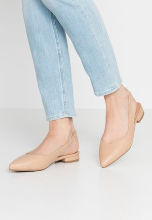 BAY - Slingback ballet pumps - tan