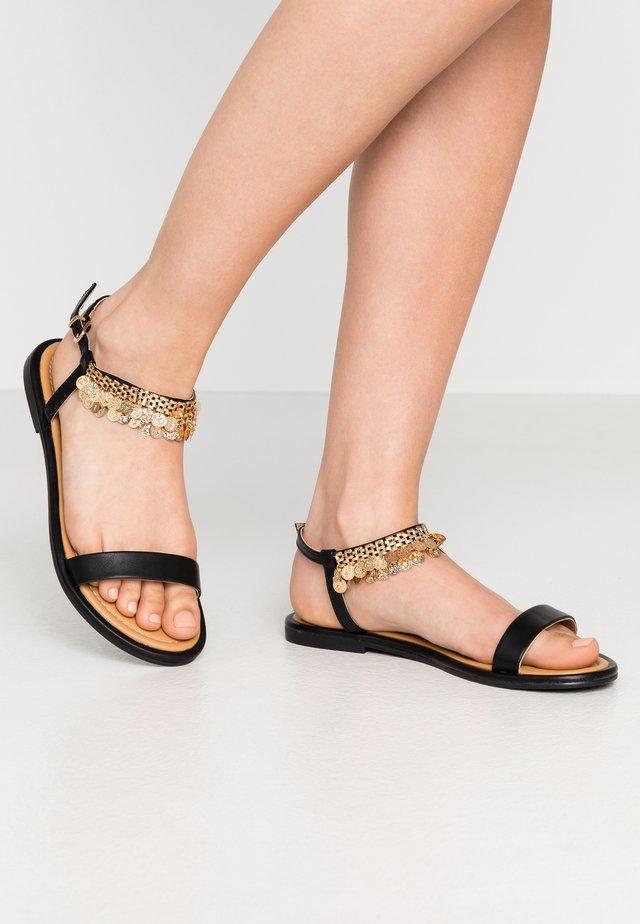 SINGAPORE - Sandals - black