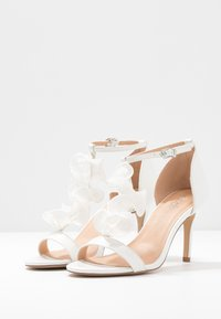 Wallis - PETAL - High heeled sandals - white - 4