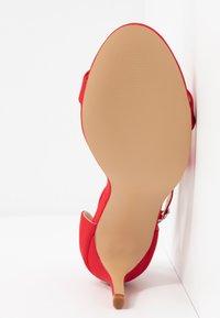 Wallis - PETAL - Sandales à talons hauts - red - 6