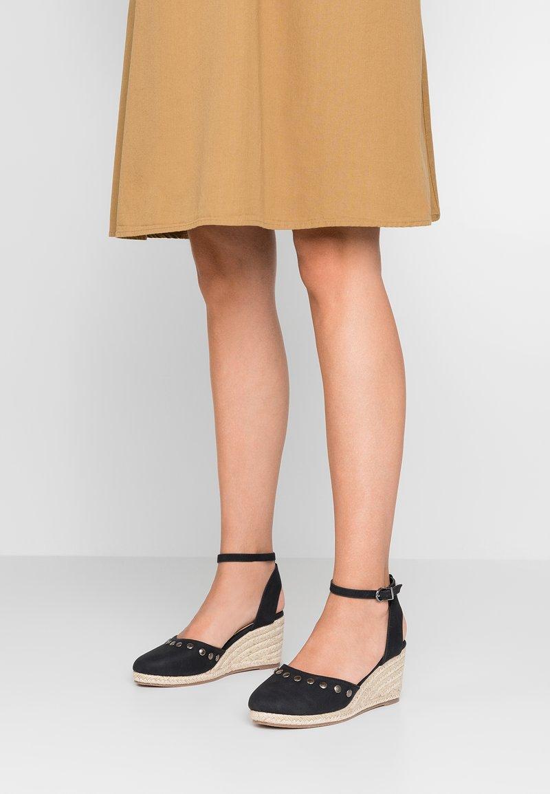 Wallis - SANDY - Platform sandals - black