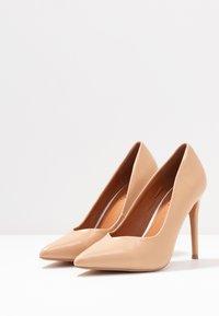 Wallis - PICASSO - Zapatos altos - nude - 4