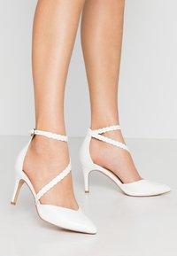 Wallis - CINDERS - Classic heels - white - 0