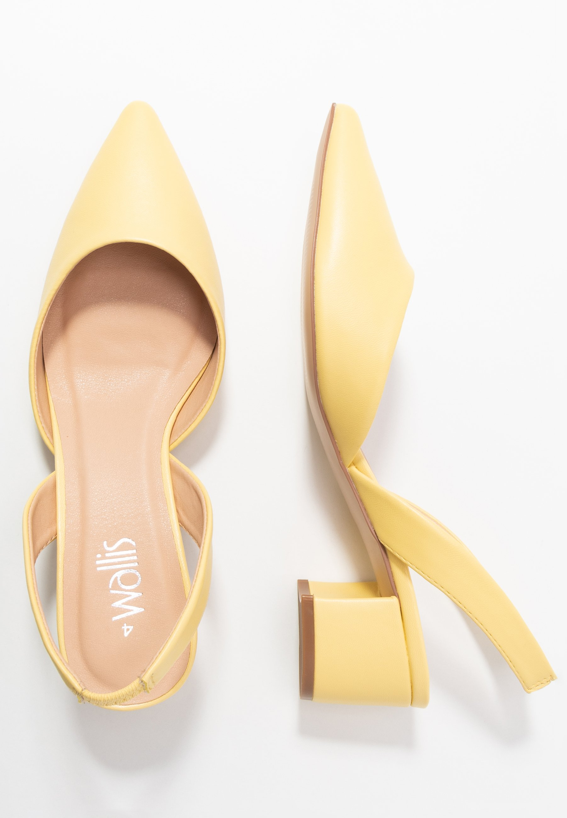 Wallis Custard - Pumps Lemon