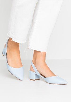 CUSTARD - Tacones - light blue