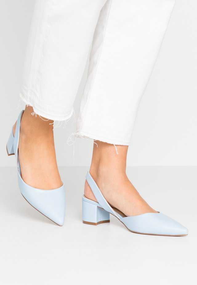 CUSTARD - Pumps - light blue