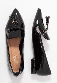 Wallis - BETHANY - Mocassins - black - 3