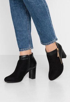 ANNALISA - Boots à talons - black