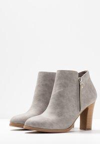 Wallis - ALUNA - Boots à talons - grey - 4